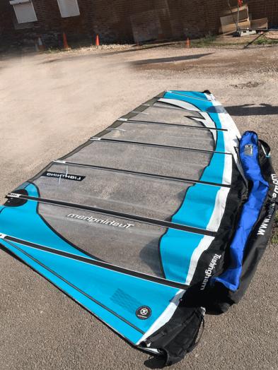 Second Hand Tushingham-Lightning-8.5m Blue Windsurfing Sail