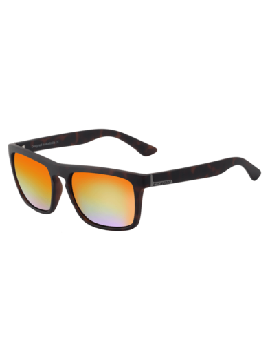 Dirty Dog Sunglasses - Ranger - Satin Tort - Orange Mirror Lens - 53471