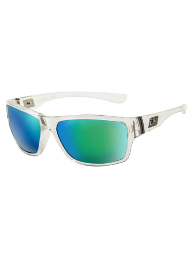Dirty Dog Sunglasses - Storm - Crystal - Green Fusion Lens - 53410