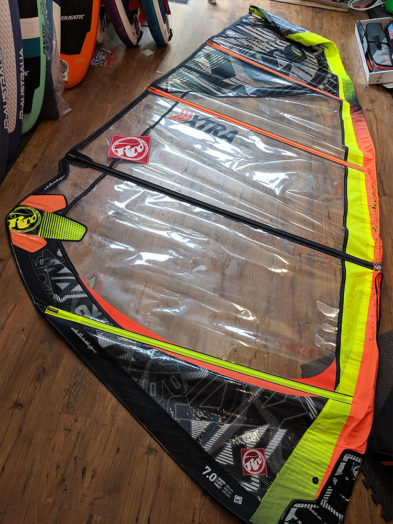 Second Hand RRD Xtra 7.0m Windsurfing Sail