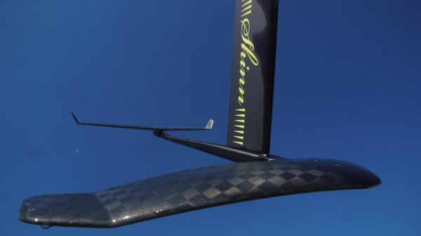 Shinn K2 Carbon Foil and Aluminium mast and fuselage