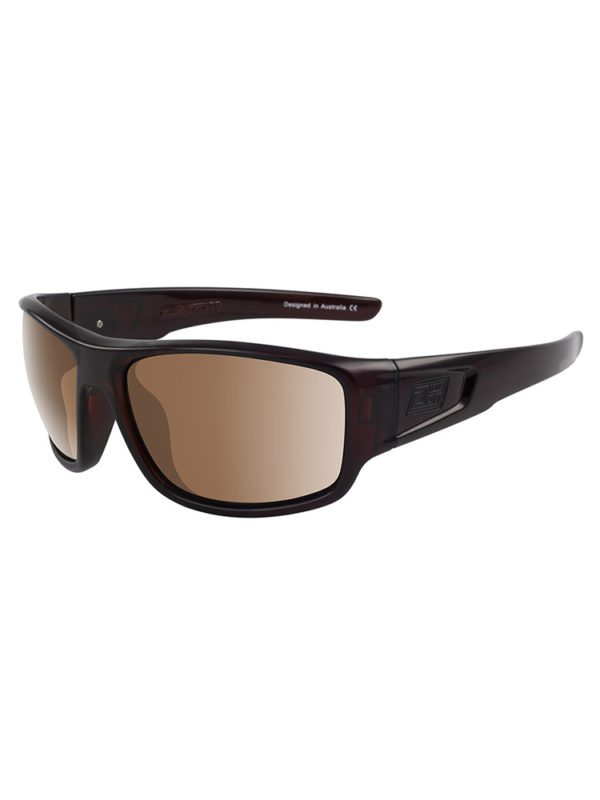 Dirty Dog Sunglasses Muffler - Brown Brown Polarised Lens