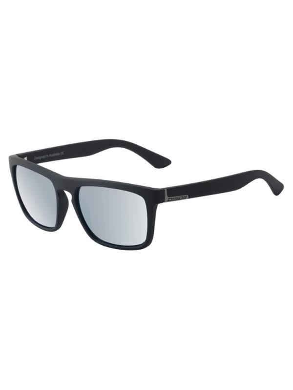 Dirty Dog Sunglasses - Ranger - Satin Black - Silver Mirror Lens - 53521