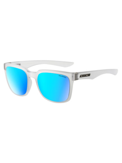 Dirty Dog Sunglasses Blade Crystal Clear Ice blue Polarised Lens