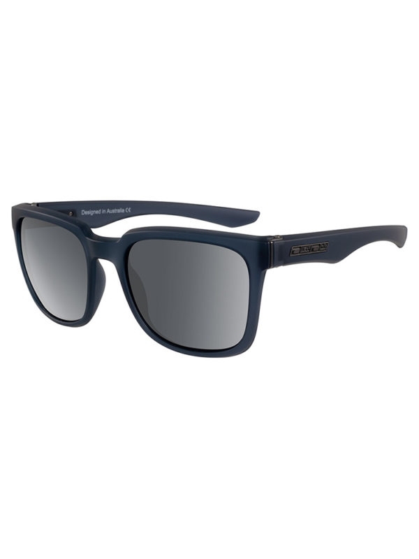 Dirty Dog Sunglasses Blade Xtal Dark GreyrGrey Polarised Lens