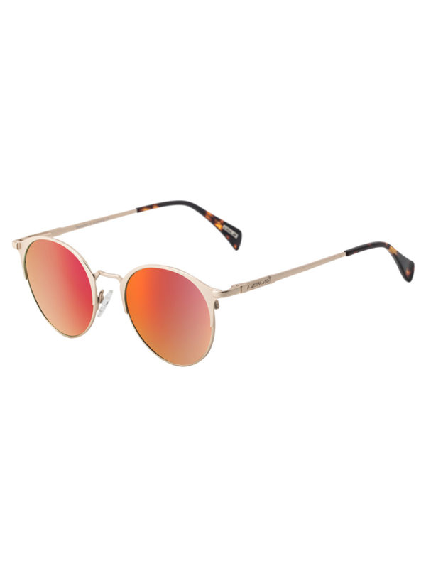 Dirty Dog Sunglasses Howl - Gold Red Fusion Mirror Polarised Lens
