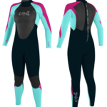 O'Neill Epic 3/2mm Youth Girls Spring/Summer Wetsuit