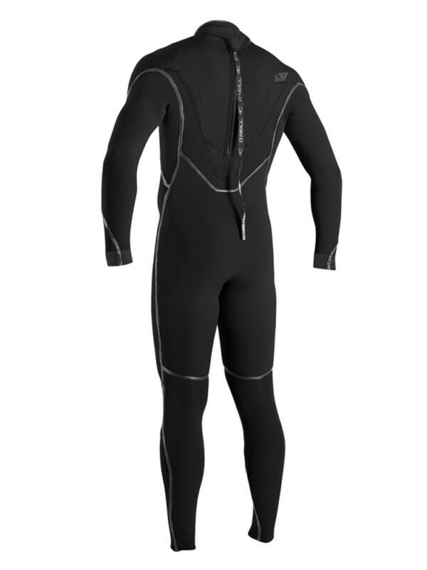 O'Neill Psycho One 5/4mm Mens Back Zip Winter Wetsuit Black 4992