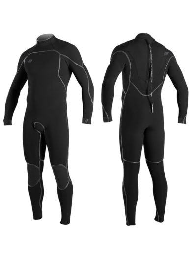 O'Neill Psycho One 5/4mm Mens Back Zip Winter Wetsuit Black 4992