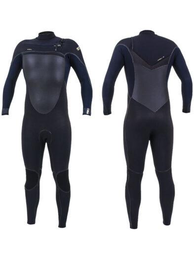 O'Neill Psycho Tech 5/4+mm Mens Winter Wetsuit Black/Abyss 5365