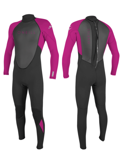 O'Neill Reactor 3/2mm Youth Girls Spring/Summer Wetsuit