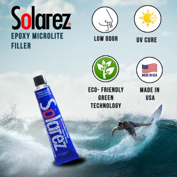 Solarez 1oz Microlite Epoxy Filler Ding RepairSolarez 1oz Microlite Epoxy Filler Ding Repair