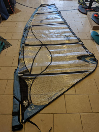 Second Hand Ezzy Wave SE 5.2m Windsurfing Sail