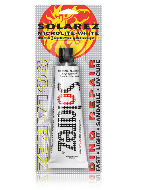 Solarez 2oz Polyester Microlite White Filler Ding Repair