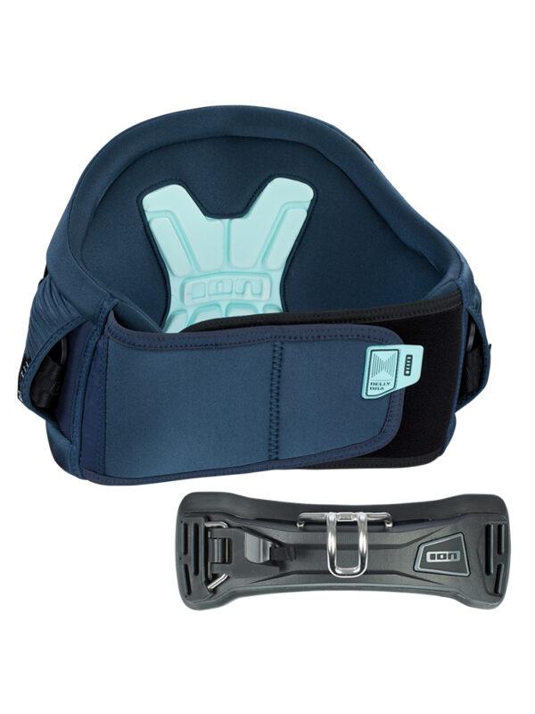 2020 ION Icon 9 Windsurf Waist Harness - Dark Blue