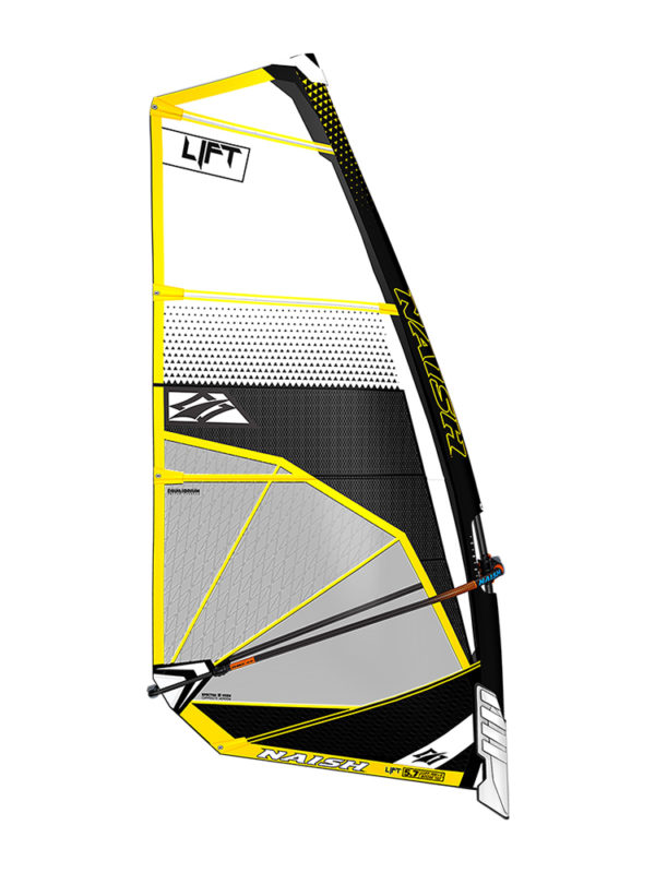 2020 Naish Lift Foiling Sail - White/ Black