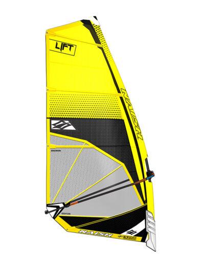 2020 Naish Lift Foiling Sail - Yellow/ Black