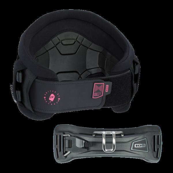 2020 ION Jade 6 Windsurf Waist Harness - Black