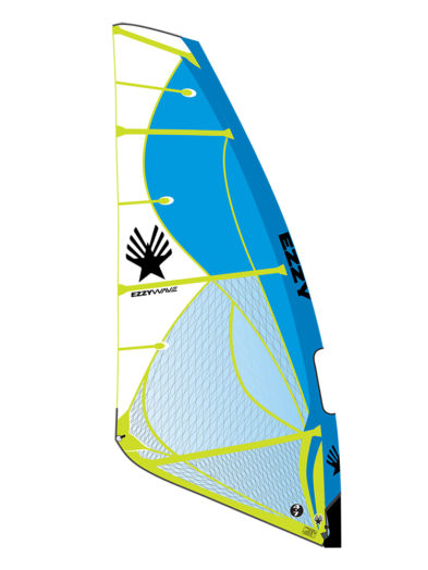 2020 Ezzy Wave Windsurfing Sail Blue