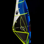 2020 Ezzy Wave Windsurfing Sail Blue Image