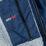 DryRobe Navy-Grey LongSleeve Pocket