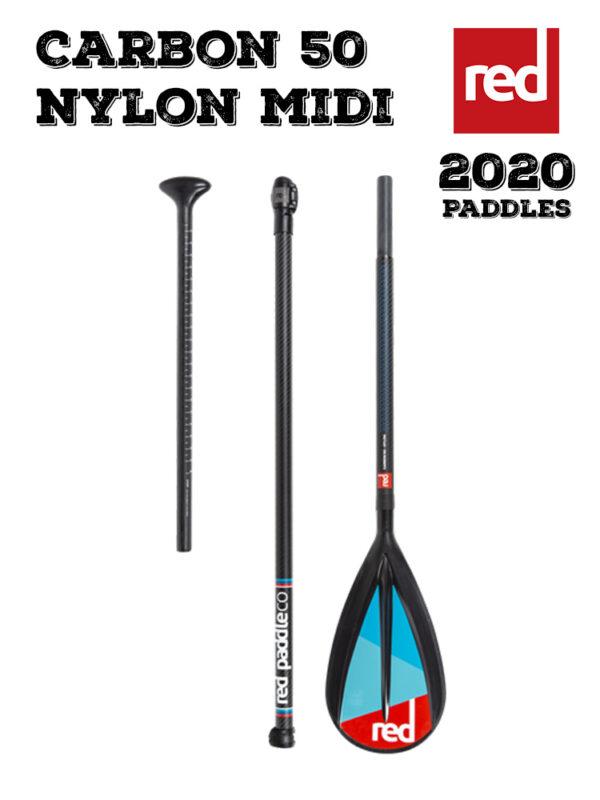 Red Paddle Co 2020 Carbon 50 Nylon Midi Paddle