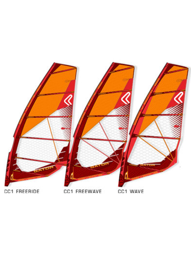 Severne-Gator-2020-Windsurfing-Sail-Red