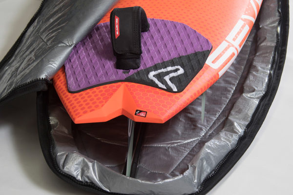 Severne Lite Shell Windsurfing Board Bag Zip Flap