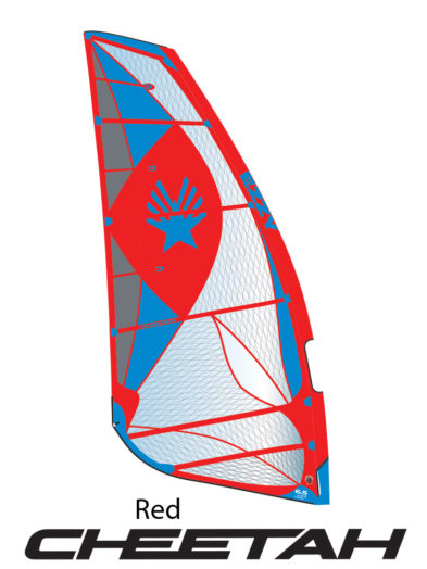 2019 Ezzy Cheetah Fast Freeride Windsurfing Sail - Red