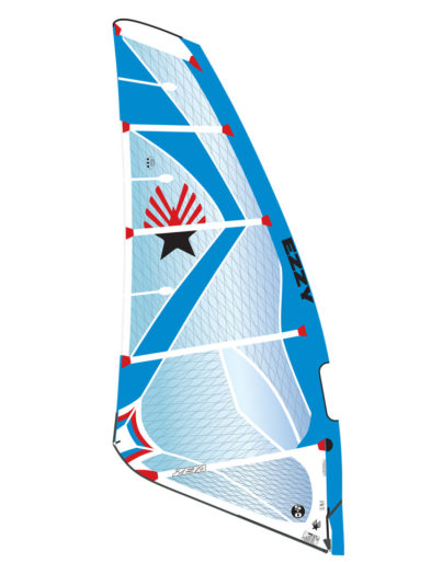 2019 Ezzy Zeta Wave Windsurfing Sail - Blue