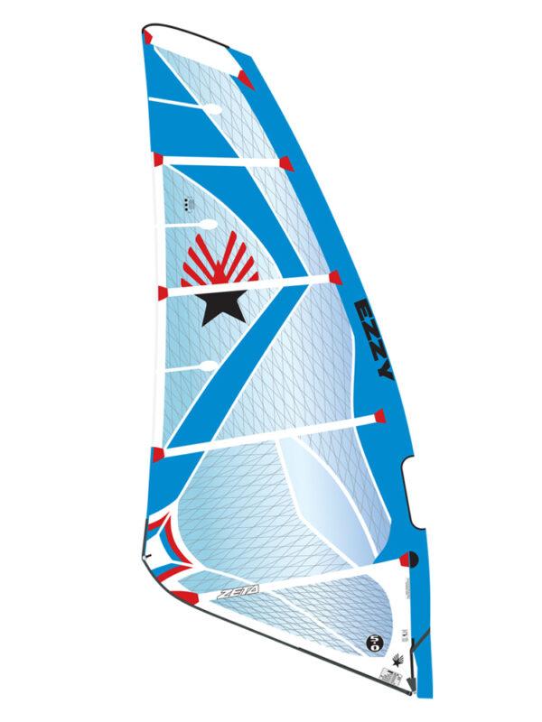 2019 Ezzy Zeta Wave Windsurfing Sail - Blue