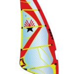 2019 Ezzy Zeta Wave Windsurfing Sail - Red