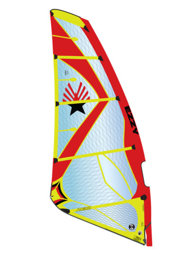 2019 Ezzy Zeta Wave Windsurfing Sail - Red