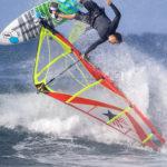 2019-Ezzy-Zeta-Wave-Windsurfing-Sail---Red-Image