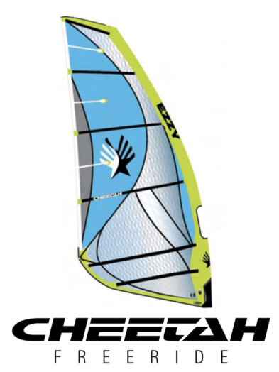 2020 Ezzy Cheetah Freeride-Windsurfing Sail - Green