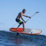 2020 Naish Hover SUP Foil Paddleboard 140ltr Action Image