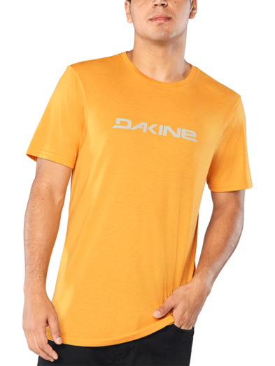 Dakine Da Rail Short Sleeve Tech T-Shirt - Golden Glow