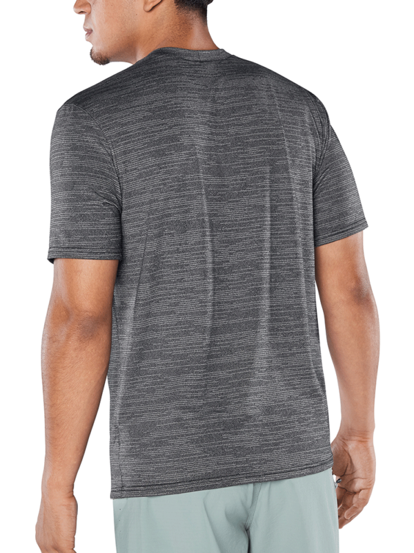 Dakine Roots Loose Fit Short Sleeve Surf Shirt - Black Heather
