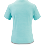 Dakine Women's Dauntless Loose Fit Short Sleeve Surf Shirt - Nile Blue Heather