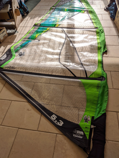 Second Hand Ezzy Panther Elite Windsurfing Sail