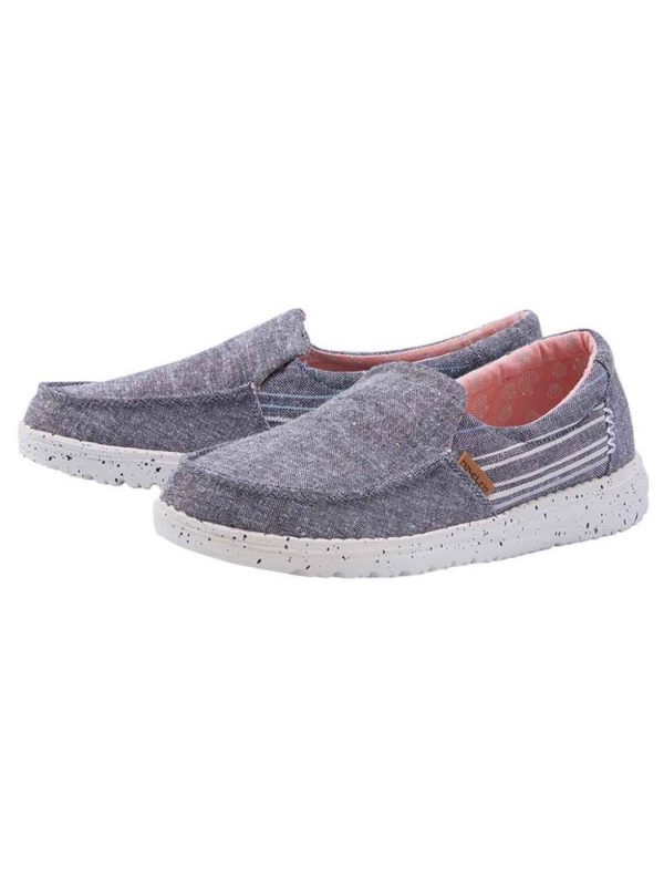 Hey Dude Shoes Misty Barbados Black