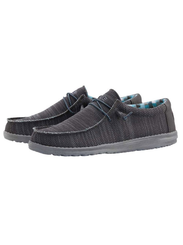 Hey Dude Shoes Wally Sox Charcoal