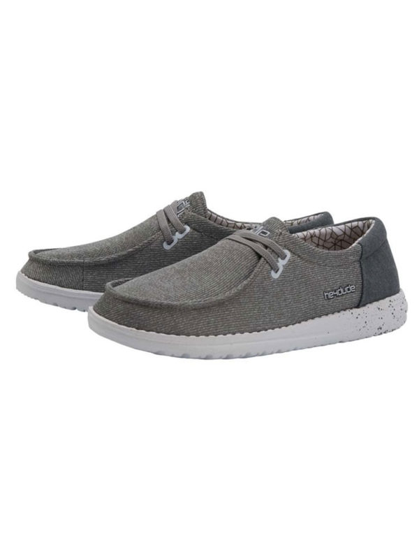 Hey Dude Shoes Wendy Micro Sox Grey