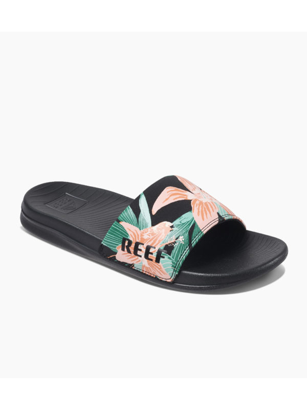 Reef Ladies One Slide RF0A3YN7 Hibiscus - Side