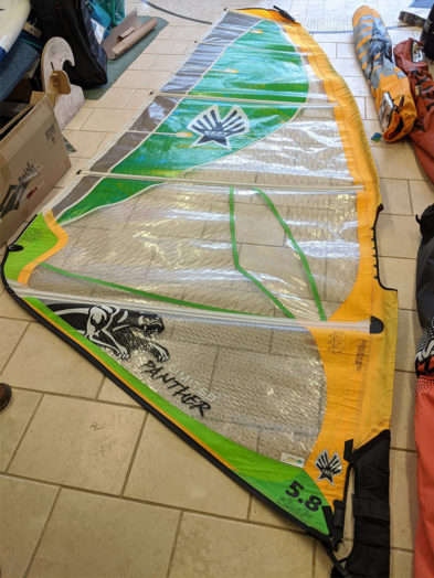Second Hand Panther Limited 5.8m Windsurfing Sail