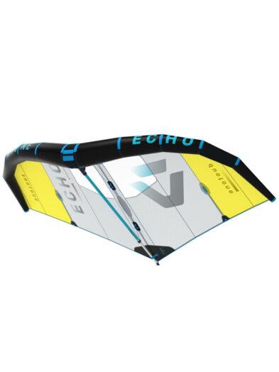 2020 Duotone Echo Wing 6m Grey-Yellow