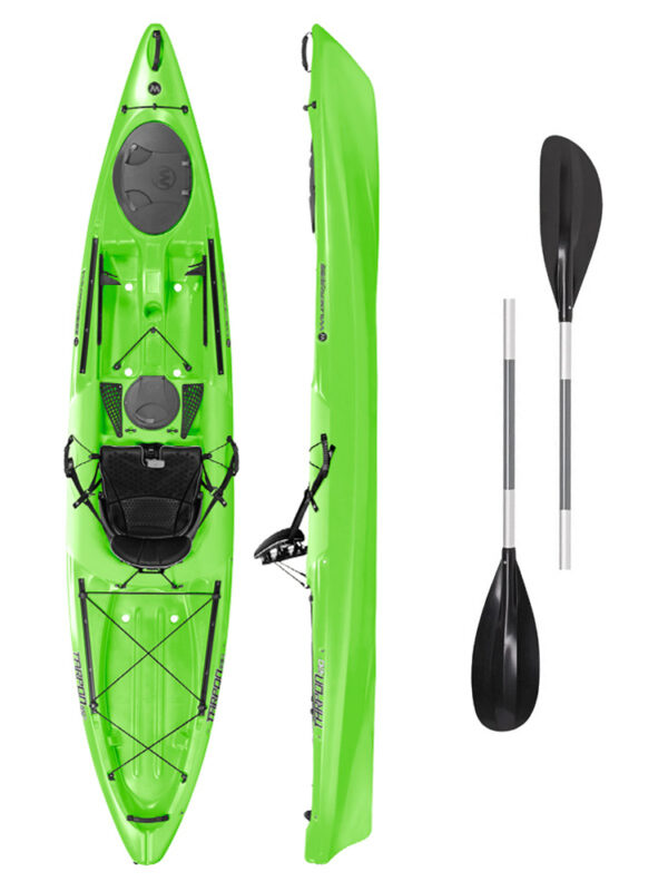 Tarpon 120 LIME with 2-Part Paddle