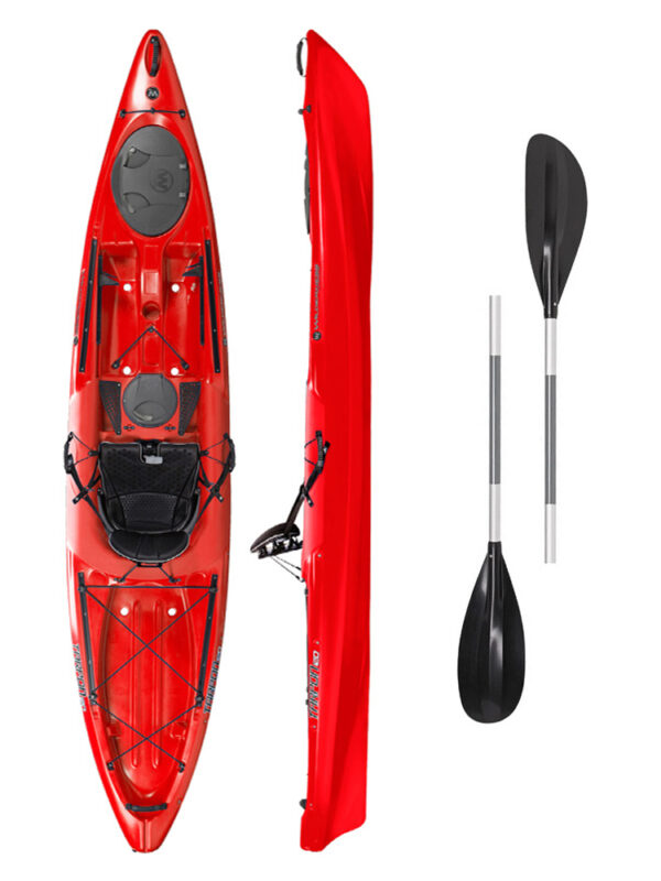 Tarpon 120 RED with 2-Part Paddle