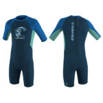 O'Neill Toddler Reactor 2mm Back Zip Shorty