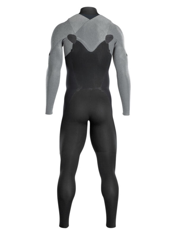 ION Wetsuit Blind Stitched Onyx Element Front Zip 3/2mm – Black 48202-4488 Inside View